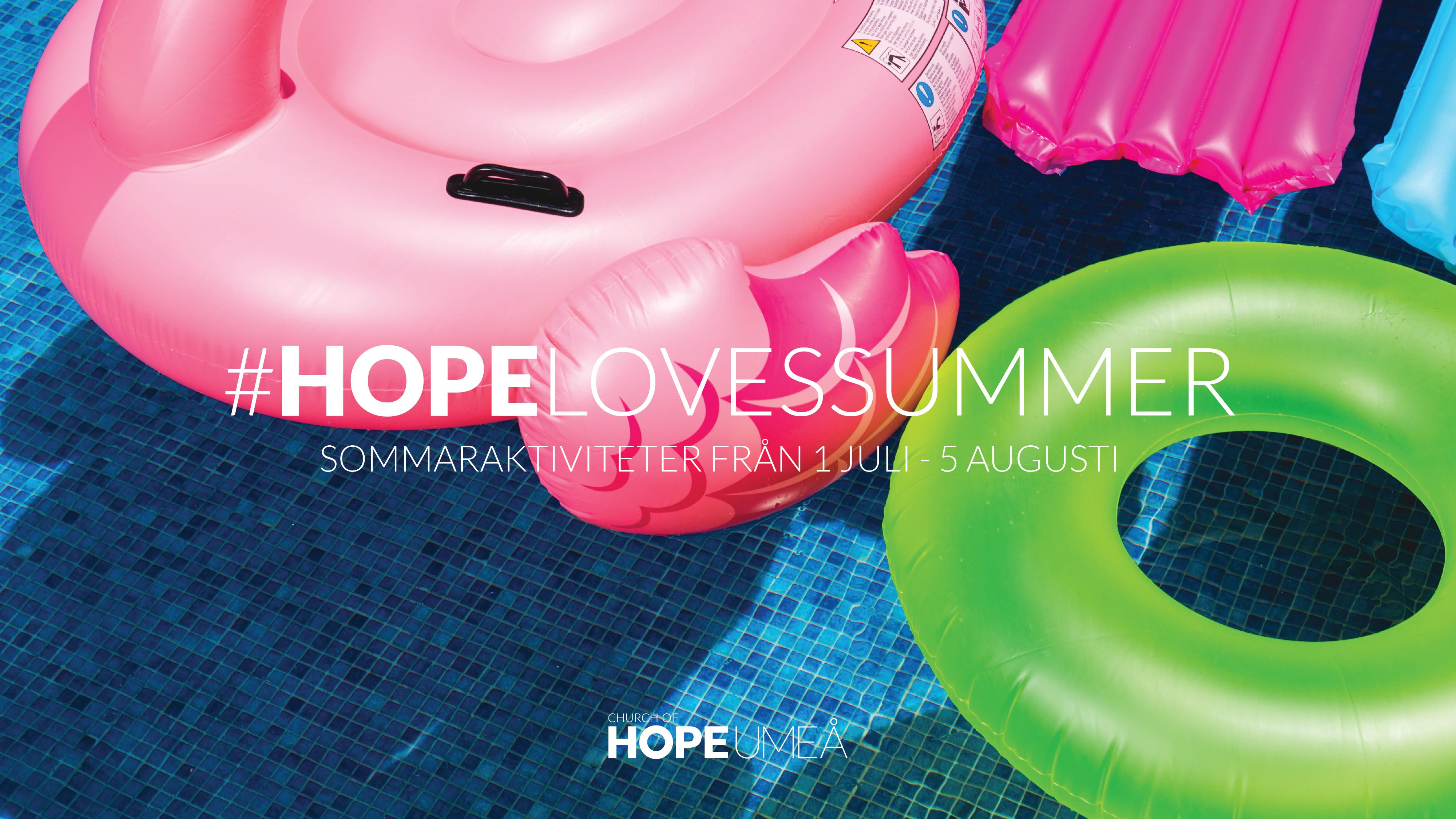 Hope loves summer