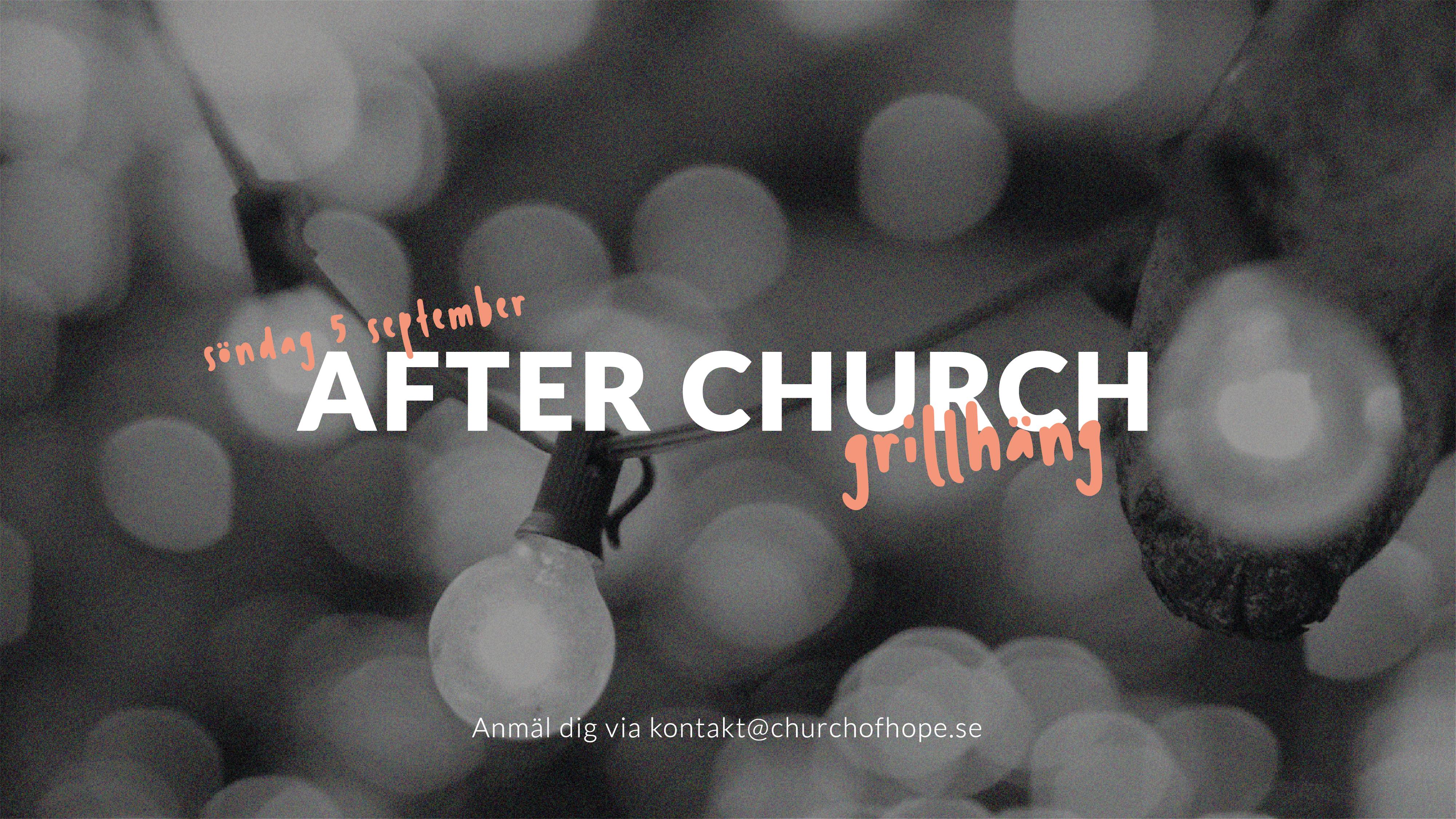 After church